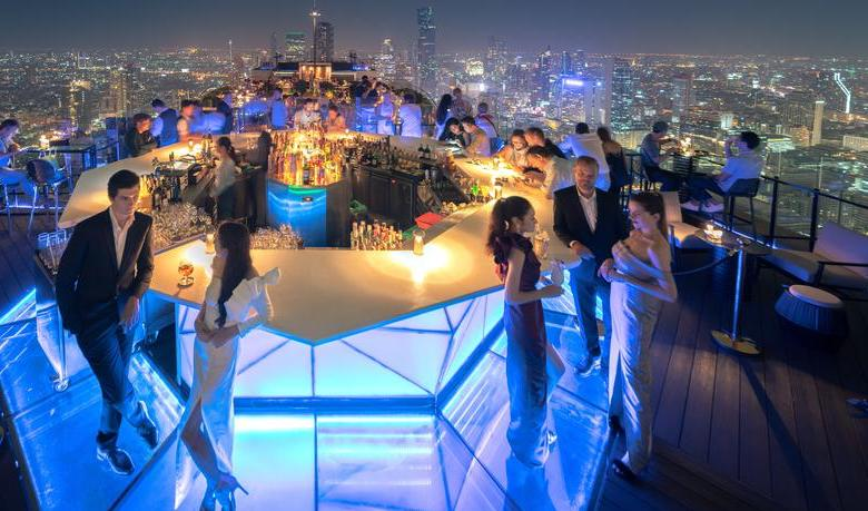 Rooftop bar, Bangkok
